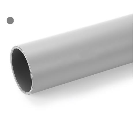 Серый матовый ПВХ (виниловый) фон Puluz для предметной фото и видео съемки 200 х 120 см.