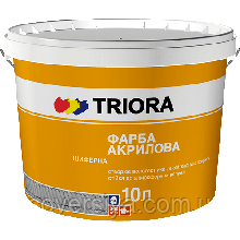 Краска для шифера ТМ Триора