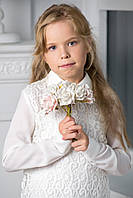 Модная Школьная Форма Для девочек. Стильная Блузка . Pinetti 817261 Размеры: 140 см, 164 cм