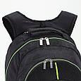 Мужской черный городской рюкзак Dolly (Долли) 351, фото 2