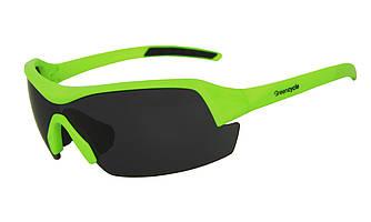 Окуляри велосипедні Green Cycle GGL-613 2 Lenses Green
