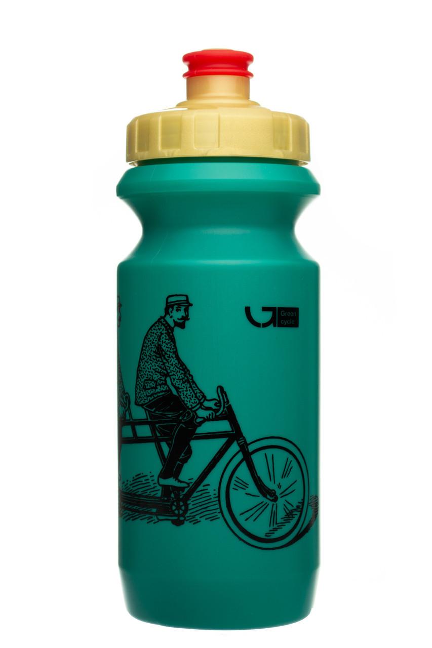 Велофляга Green Cycle DUDES on bike 0,6 green