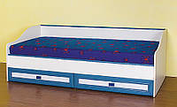 Кровать Твинс нижняя №1 650х1935х860мм джинс каролина Сокме