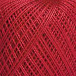 Пряжа для ручного вязания Ирис (хлопок) красный