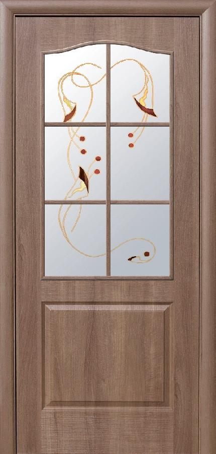 Двери Новый стиль Классик Р1 золотая ольха