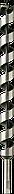 Сверло по дереву спиралевидное Short 25х235 мм Diager