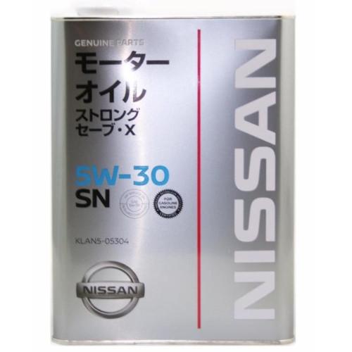 Моторное масло  Nissan SN Strong Save X 5W-30  (Нисcан) 4л