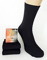 """Мужские носки """"Milano socks"""". Cotton. Черный цвет."""