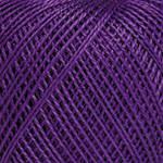 Пряжа для ручного вязания Ирис (хлопок)фиолетовый