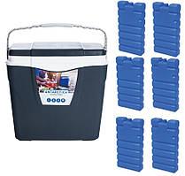 Туристичний холодильник ANTARCTICA 25L + 6 акумуляторів холоду