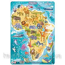 Пазл Dodo с рамкой Африка