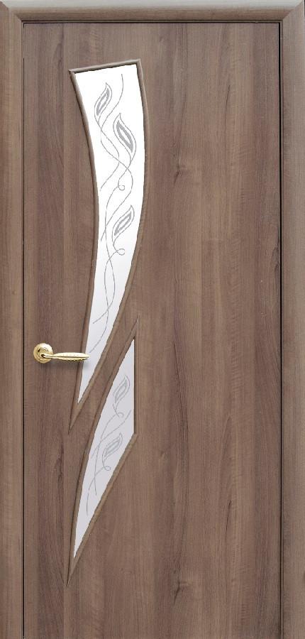 Двери Новый стиль Камея Р3 золотая ольха