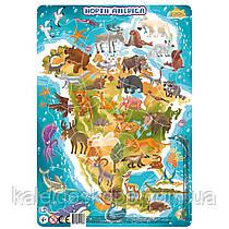 Пазл Dodo с рамкой Северная Америка