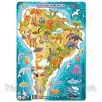 Пазл Dodo с рамкой Южная Америка