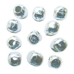 Намистини Роздільники Безшовні, Колір Срібло, Діаметр 2.4 мм, Отв. 0.8 мм, 10 г/близько 190 шт.