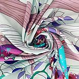 Палантин из вискозы 10812-11, павлопосадский палантин из вискозы, размер 65х200, фото 4