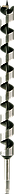 Сверло по дереву спиралевидное Long 12х450 мм Diager