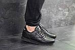 Чоловічі кросівки Reebok Classic (чорні), фото 3
