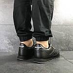Чоловічі кросівки Reebok Classic (чорні), фото 7