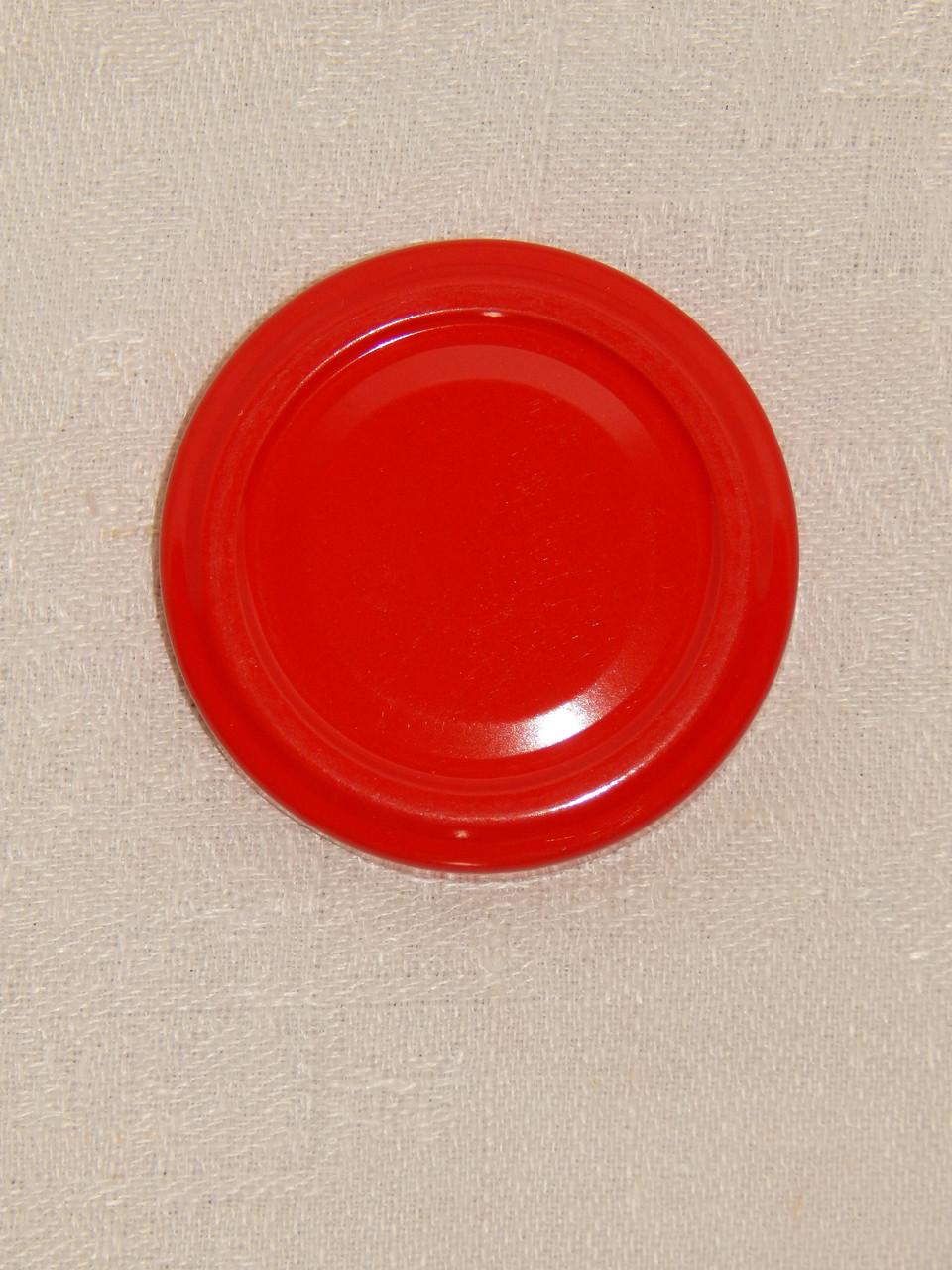 Крышка закаточная твист-офф размер 53 мм красная