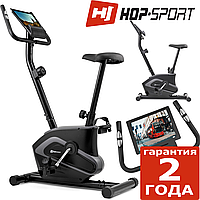 Тренажер велосипед HS-003H Eclips Black/Gray,Магнитная,100,Вес маховика 6 кг, Домашнее, 1 - 10, BA100, 1 - 9, 18, 24
