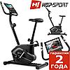 Підлоговий велотренажер HS-003H Eclips Black/Gray,Магнітна,120,Вага маховика 6 кг, Домашня, 1 - 10, BA100, 1 - 9, 18, 24
