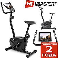 Велотренажер для реабилитации HS-002H Slide Black/Gray,Магнитная,120,Вес маховика 5,5 кг, Домашнее, 1 - 10, BA100, 1 - 9, 16, 24