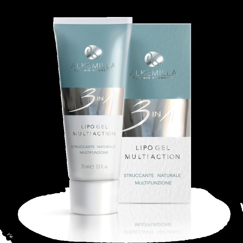 Натуральный многофункциональный гель для снятия макияжа 3в1 75мл - Alkemilla