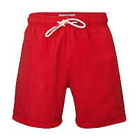 Пляжные шорты красные