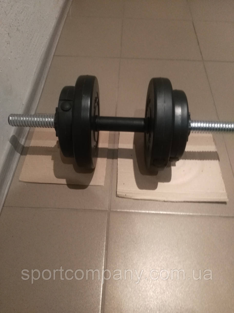 Гантеля композитная 16 кг