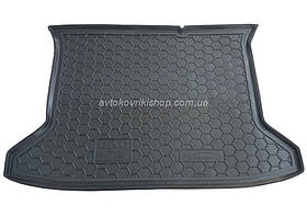 Резиновый коврик багажника JAC S3 2014- Avto-Gumm