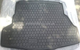 Резиновый коврик багажника JAC J5 2013- Avto-Gumm