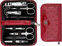 Манікюрний набір Kellermann 8 предметів 5211 MCN Червоний