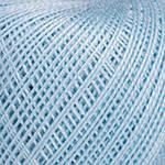 Пряжа для ручного вязания Ирис (хлопок) голубой