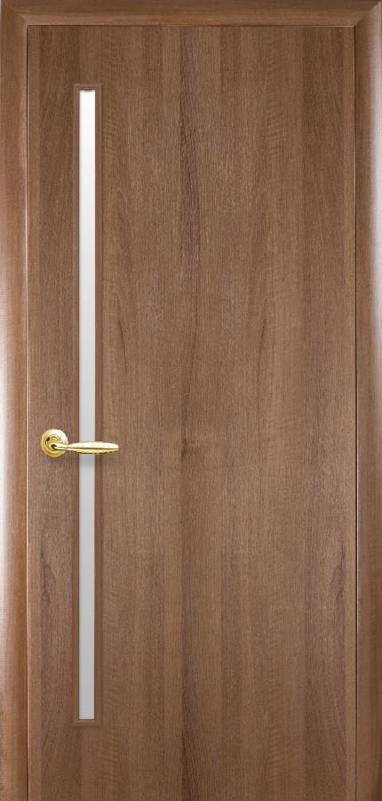 Двери Новый стиль Глория ПО золотая ольха