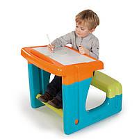 Детская Парта с Двухсторонней Доской для рисования Smoby 28061N