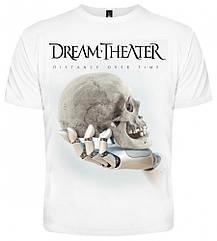 "Футболка Dream Theater ""Distance over Time"" (белая), Размер S"