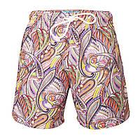 """Пляжные шорты """"Цветной пейсли"""""""