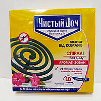 Спирали от комаров ароматизированные