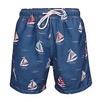 """Пляжные шорты """"Кораблики"""""""