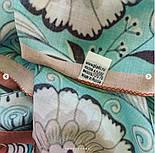 Палантин из вискозы 10808-11, павлопосадский палантин из вискозы, размер 65х200, фото 9