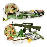 Детские тематические игровые наборы оружия