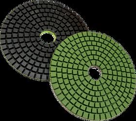"""Гибкий алмазный шлифовальный круг (пад """"черепашка"""") 100 мм GR-3000 Samedia"""