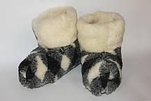 Чуни из овечьей шерсти Мериноса, размер 36-45 \ Tvd - 1009; О48