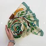 Палантин из вискозы 10812-2, павлопосадский палантин из вискозы, размер 65х200, фото 7