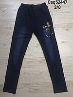 Лосины под джинс для девочек оптом, Seagull, 3-8 лет, арт. CSQ-52447