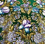 Белой ночи кружевные сны 1844-9, павлопосадский платок шерстяной  с шелковой бахромой, фото 5