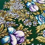 Белой ночи кружевные сны 1844-9, павлопосадский платок шерстяной  с шелковой бахромой, фото 9