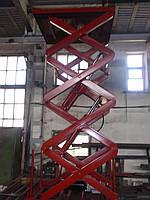 Подъемник ножничный Docker 1500х1300мм, ход 3,2м