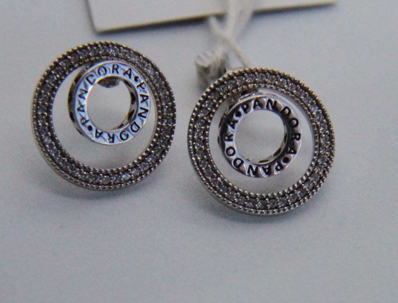 Сережки зі срібла Мої прикраси в стилі Pandora